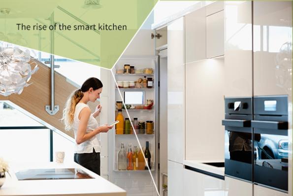 Smart kitchen | Connected living  Components for quiet, energy-efficient appliances plus smaller, more intuitive sensors