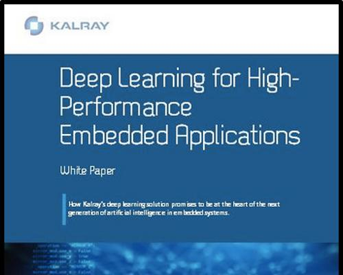 Kalray: Deep learning for high-performance applications