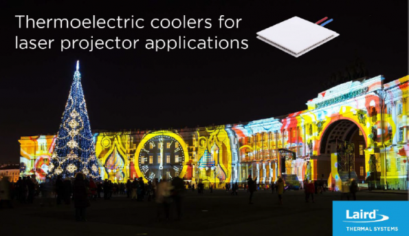 Thermoelectric Cooling for Projection Lasers