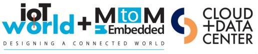 IoT WORLD - MtoM – Cloud  & Datacenter 5 et 6 octobre 2021