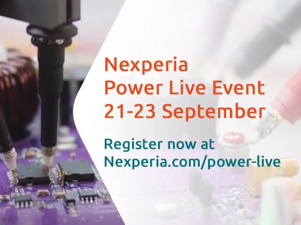 Nexperia launches 'Power Live' September 21-23 2021