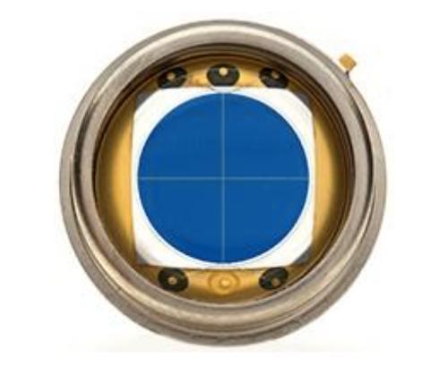 Silego: Precise measurement with quadrant photodiode