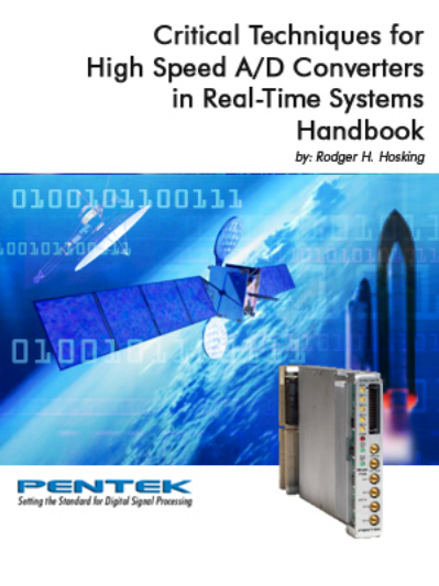 Pentek: Critical Techniques for High-Speed A/D Converters in Real-Time Systems