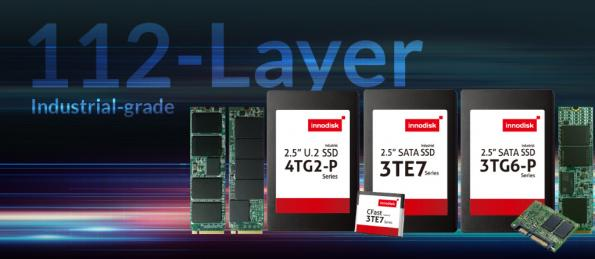 Industrial-grade 112-Layer 3D TLC SSDs extend to 8TB