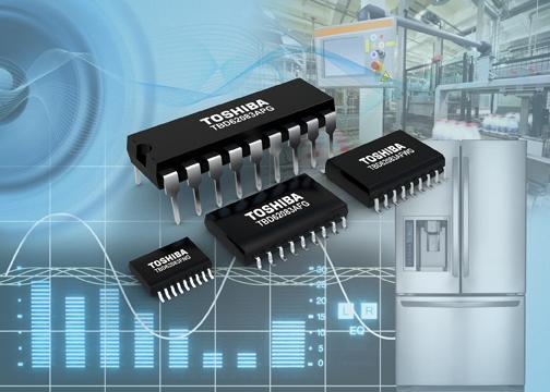 Octal DMOS-FET arrays cut power loss in multi-channel driver circuits