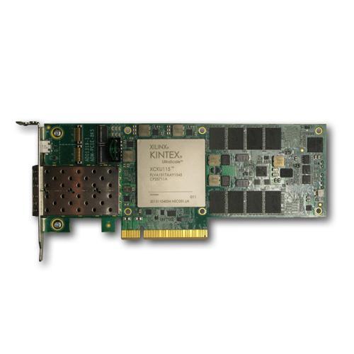 FPGA accelerator board hosts Xilinx Kintex Ultrascale