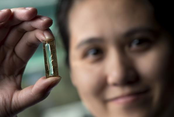 Gel-coated nanowires yield batteries with 'indefinite' cycle life