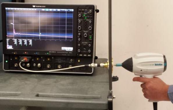 Proper oscilloscope setup yields correct ESD measurements