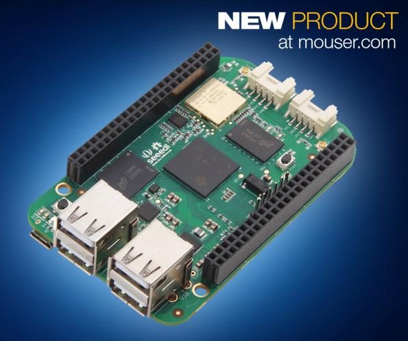 Linux development board for wireless, Wi-Fi and Bluetooth 4.1