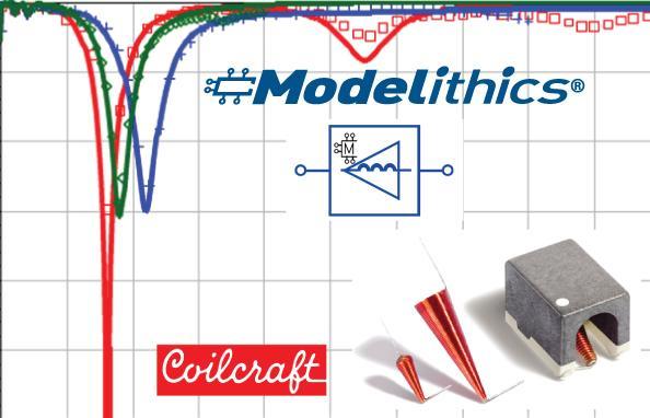 HF inductors gain precision microwave simulation models