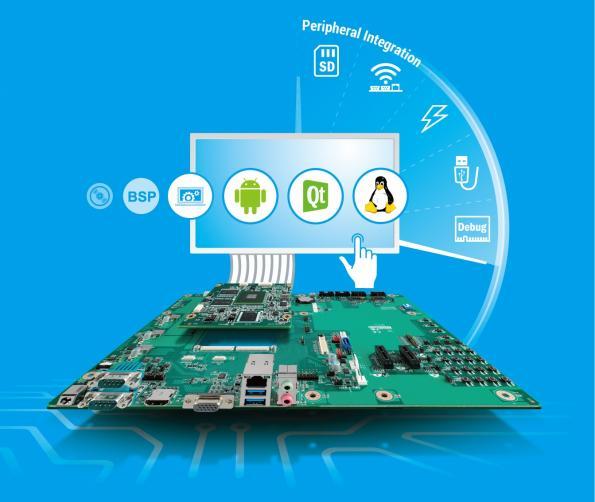 ARM-based development starter kits by Advantech, in distribution