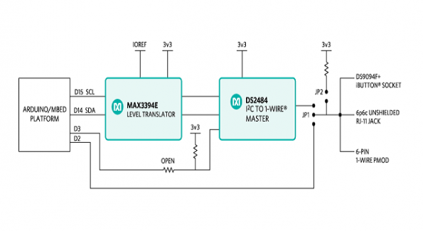 Maxim's 1-Wire interface meets Arduino and mbed