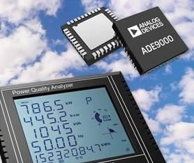 Integrated power quality monitoring front-end from ADI