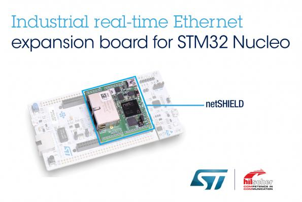 Multi-protocol Industrial Ethernet expansion for STM32 MCU family