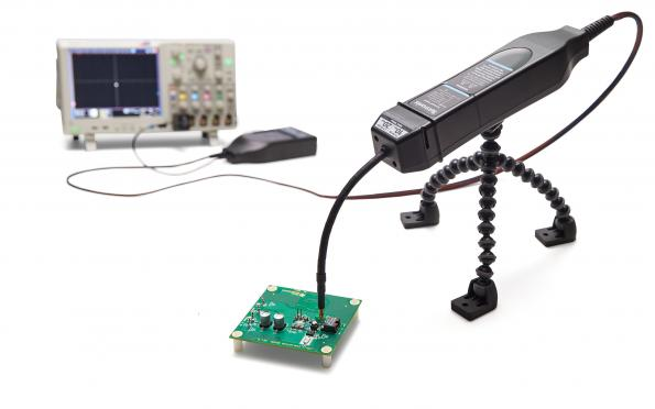 Tektronix' isolated probe system now measures large differential voltages