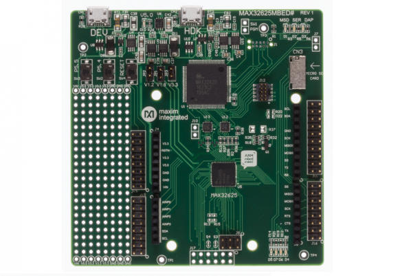ARM mbed-enabled, Ardunio-compatible, dev kit for Maxim's MCUs for wearables
