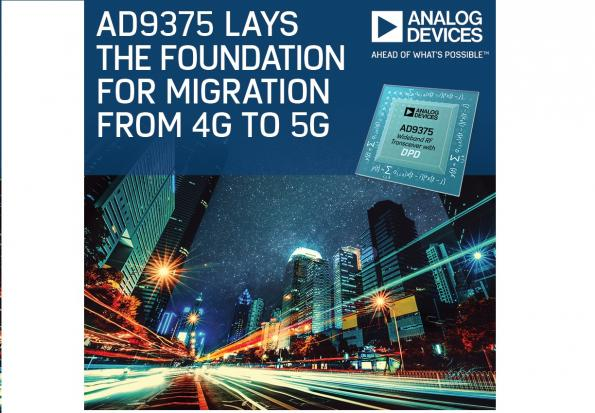 ADI targets RadioVerse technology for 4G to 5G, and massive-MIMO