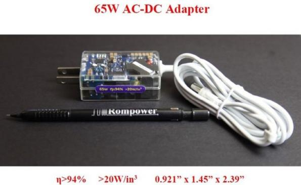 Laptop adaptor maker switches to GaN to boost power density
