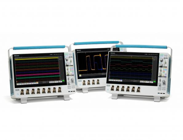 Tektronix' MSOs add channels, resolution, large screens and touch interface