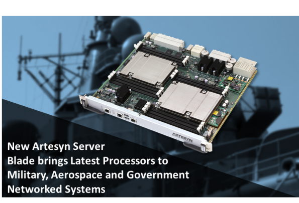 Mil/COTS server blade hosts dual Skylake CPUs