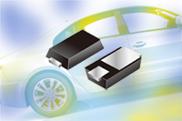 1/2A Schottky diodes in micro packaging offer automotive
