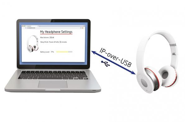 IP-over-USB technology simplifies browser access for USB devices