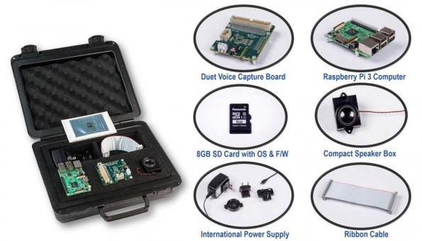 Voice Capture dev  kit accesses Alexa Voice Service – in