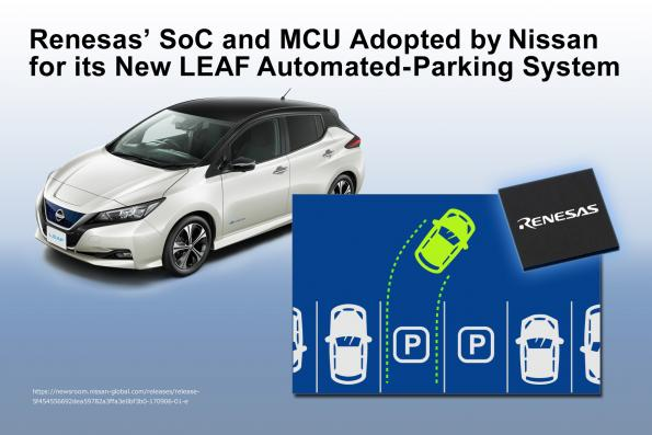 Design win; Renesas silicon enables Nissan Leaf auto-parking