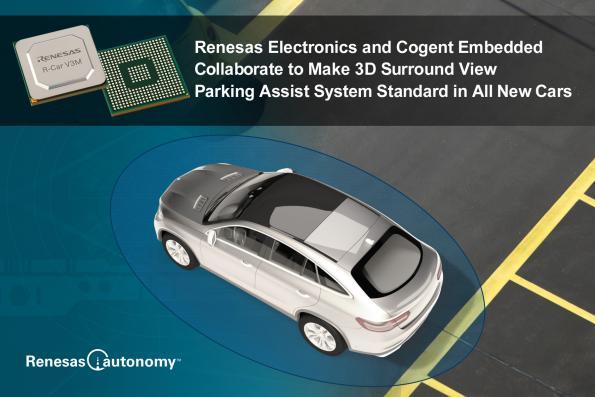 3D surround view solution assists driver parking