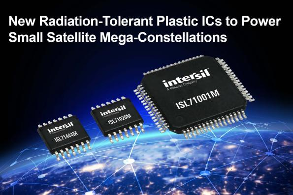 Radiation-tolerant plastic ICs for small, shorter-lifetime satellites