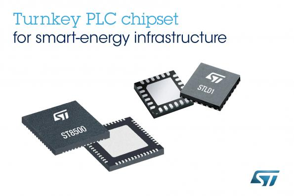 ST's power-line-comms modem chipset is 'turnkey' option for smart metering