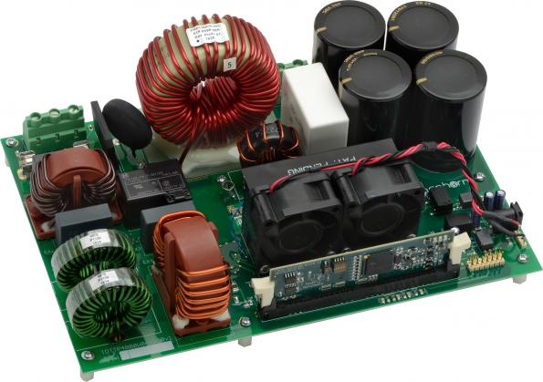 Evaluation kits for kW-rated power stages using GaN