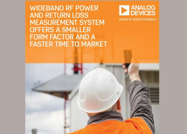 Wideband RF power / return loss measurement system in integrated format