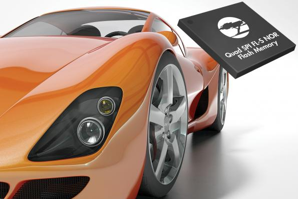 Design win; Cypress' automotive PMIC & NOR flash in stereo vision sensor