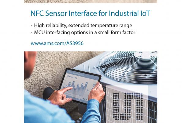 NFC sensor interface for industrial IoT