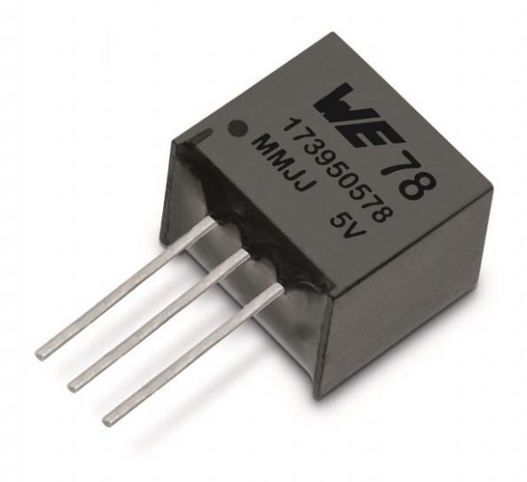 Highly integrated DC/DC modules from Wurth, in distribution