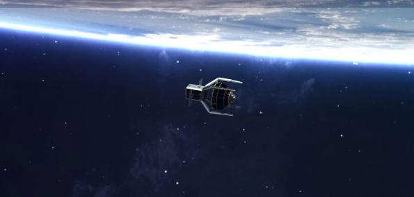 Machine learning to remove space debris