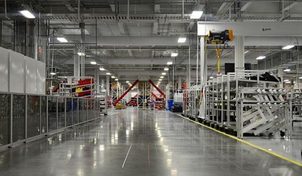 Tesla powers up battery production at Gigafactory