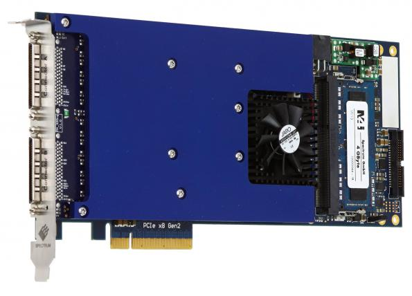 Digital data acquisition card takes up to 720MBit/s rates