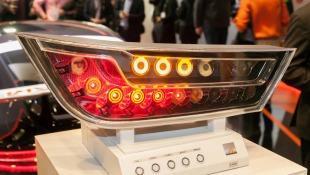 Osram's LED/OLED rear light demonstrator
