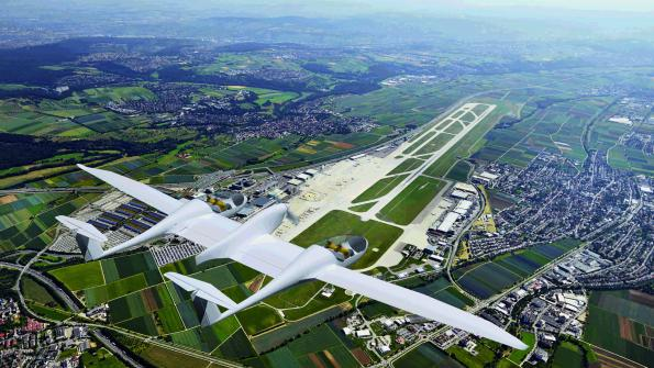 Fuel cell plane brings zero emission flying within reach