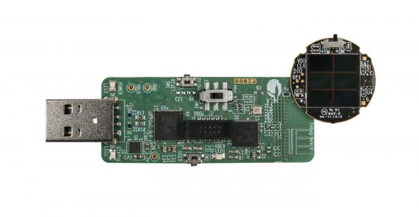 Sensor BLE beacon reference design is solar-powered