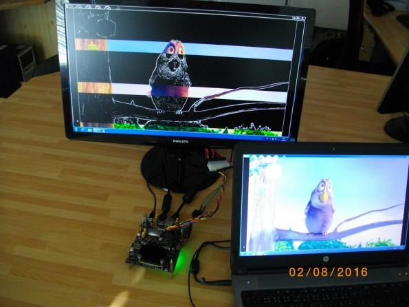 Video processing algorithms to boost edge and motion detection