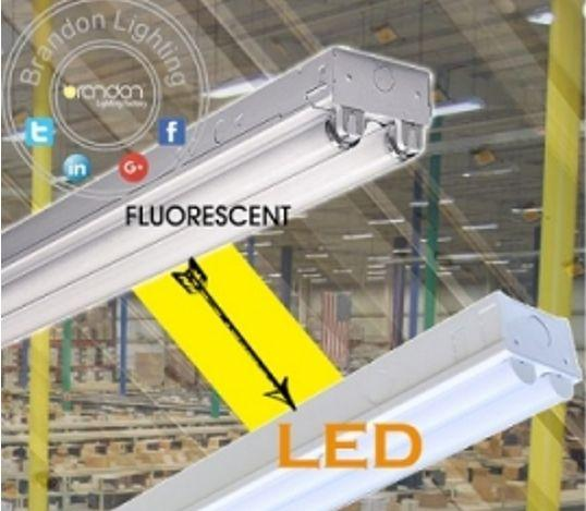 4 And 8 Inch Led Retrofit Kits Convert Fluorescent