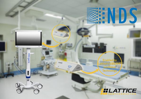 Lattice Semiconductor and NDS Surgical Imaging partner on 60 GHz for medical devices
