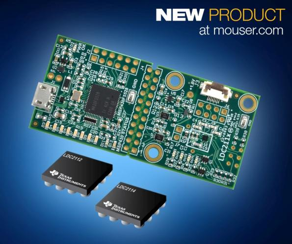 TI's inductive touch sensing module at Mouser