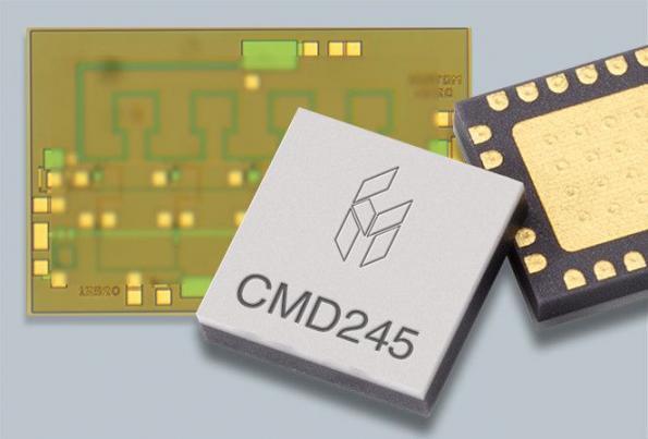 GaAs MMIC low phase noise amplifier