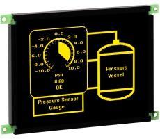 Rugged TFEL displays operate from -60 to +105°C