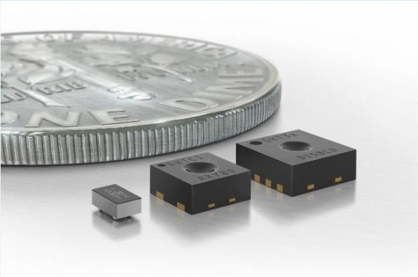 Ultra-small humidity sensors for consumer electronics