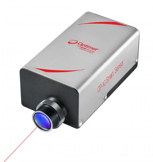 Non-contact laser displacement sensor has built-in profile